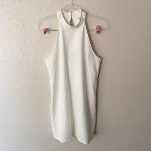 White halter Lulus dress